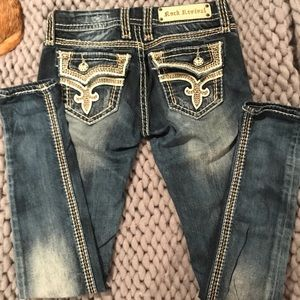 Rock Revival Jeans - Women's Rock Revival Kai Skinny Jean Size 25